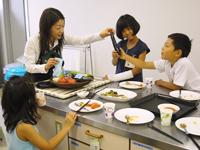 子ども野菜熟