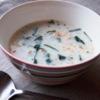 ほうれん草のクリームスープ