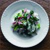 小松菜とベーコンの混ぜご飯