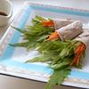 水菜とゆずのさっぱり肉巻き